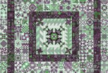 Aa 365 sampler quilt / Quilting