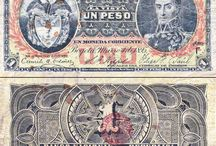 Billetes Colombianos Antiguos
