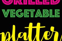 Veggies platter ideas