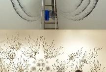 Kreslení a dekorace zdí