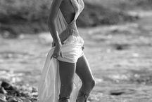 At the beach.. / .