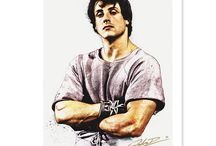 Rocky 40th Anniversary / Topps is creating wall art, prints, cards and more for the 40th anniversary of the Rocky movie. / by The Topps Company