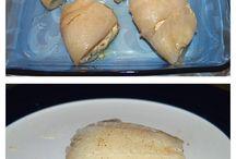Fish and scallops /vis schelp- en schaaldieren