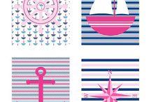Navy & Stripes