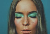 Colorful fashion beauty / references