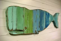 Weathered Wooden Board Crafts