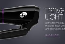 Travellin' Light / Experience all the benefits of T3 Tourmaline® SoftAire™ technology in an ultra compact and lightweight size.