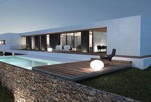 Maisons et piscines