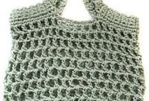 crochet bags/baskets