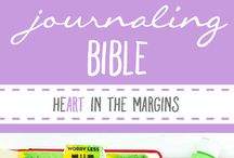 Bible Journaling / Love this concept and want to participate.  Researching some ideas and products but maybe I will just jump in and get started.