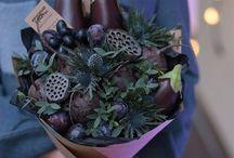 Zöldség-gyümölcsöt csokrok
