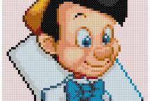 Beads/Perler/Hama Pinocchio
