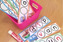 Kindergarten Word Work / Kindergarten word work resources, activities and ideas.