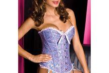 Corsets / Colección de corsets sexy online mas favorecedores del mercado. Te encontrarás cómoda y te verás muy femenina y seductora.