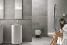 Concrete Look - Sichenia / The material innovation of cement, along with the tradition of porcelain stoneware