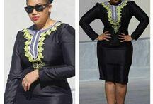 Princesse Ayelah / African print