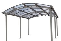 Aluminum Carports, Garages & Canopies, Polycarbonate Canopy Roof Aluminum Carport / Select high quality polycarbonate aluminum carport canopy, canopies and garages products varied in style. Aluminum carports, car canopy resist weathering and rusting, withstand high winds and heavy snowfall.