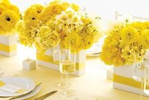 Yellow Wedding Inspiration / This board is devoted to a love of Yellow weddings! Whether it's yellow and white, yellow and gray, or any other lovely color combo that include yellow, your inspiration can be found here!
