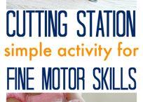 Scissor skill activities
