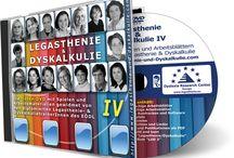 Legasthenie und Dyskalkulie IV DVD / Übungsmaterialien für das Legasthenie und Dyskalkulietraining