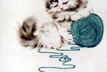 Kissat ja lankoja