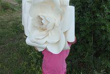 FLORES PAPEL XL / flores de papel