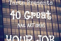 Crumpet Nail Tarts Presents - Your Job / Crumpet Nail Tarts Presents 40 Great Nail Art Ideas #40gnai