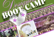 Event Designer Boot Camp Orlando January 6-11, 2016 / Hello Students  It's that time again!  We are happy to announce our next graduation is January 6-11 2016 in Orlando Florida.  To make this year even more special, we are holding the graduation in conjunction with our Designer Boot Camp! This is a Boot camp like no other. Your drill sergeants challenge to build extraordinary wall to wall decor against each other and the clock.