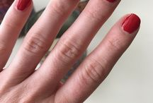 Salon from Home, OPI Big Apple Red and ILPN Cameo