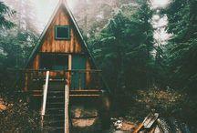 Landscapes, Cabins & Walking Trails