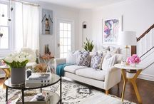 Living Spaces / A few living room/spaces ideas for our new home!