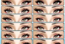The Sims 4 eyelashes