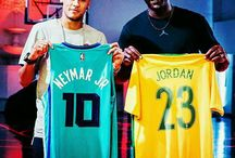 Neymar Jr i Michael Jordan