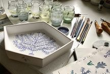 Collaboration with Kla.si.k.a., ceramic studio