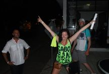 September 2016 AMAZING CABO BAR CRAWL / Fun pictures of our guests during our events