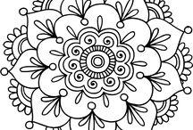 Hobby/Kleuren / Kleurplaten Mandala