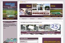 Nuestras creaciones Web