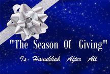 LET THE FESTIVAL OF LIGHTS BEGIN / HANUKKAH STARTS