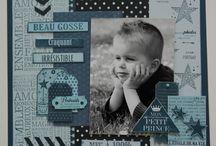 scrapbooking photo enfant