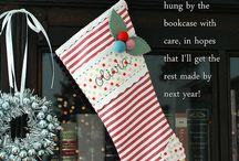 Christmas Stockings / by Jill Daugs