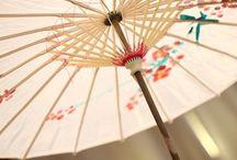 Japan themed wedding