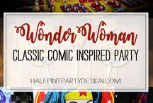 Wonder Woman Party Ideas