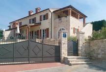 Kroatien - Doppelvilla - Fuskulin / Zwei Villen, komplett möbliert mit Terrasse, Loggia, Pool und Garten. Vermietung genehmigt.  Die zweite Villa kann zum gleichen Preis erworben werden.