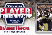 IW Marks Player Of The Game