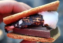 S'mores / A campfire crackles in the crisp air as your marshmallow turns into gooey goodness.