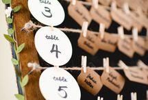 marcadores de mesas