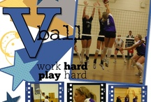 Volleyball Scrapbooking