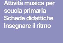 Musica scuola primaria