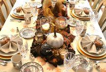 Thanksgiving / Inspiration for Thanksgiving dinner