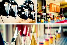 Party heart! / Party tips, tricks, and decoration ideas  / by Khindra Natalie